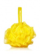 Bath and Body Works Yellow Shower Sponge.