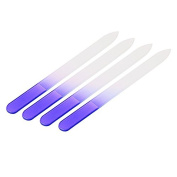 YouMiYa 4pcs Nail Files Crystal Glass File Buffer Manicure Device Nail Art Decorations Tool