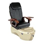 Shiatsulogic Pedicure Spa BLACK Cover SERENITY 5103 Pedicure Chair w/ Discharge Pump