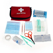 By Bike B56 Emergency Survival First Aid Kit Pack Travel Medical Sports Home Bag