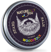 NATUREALLY YOU© - Woodstock Scent - (60ml) - Condition, Smooth, Soften, Tame, Remove Beard Itch