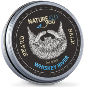 NATUREALLY YOU© - Whiskey River Scent - (60ml) - Condition, Smooth, Soften, Tame, Remove Beard Itch