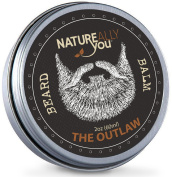 NATUREALLY YOU© - Beard Balm - The Outlaw Scent - (60ml) - Condition, Smooth, Soften, Tame, Remove Beard Itch