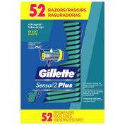 Gillette Custom Plus Disposable Razor (52 ct.) ES