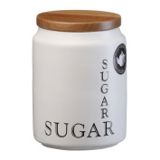 Crossword White Sugar Storage Jar 800ml