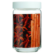 Ocean Stac Jar 750ml White