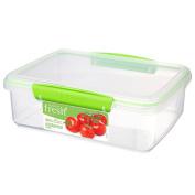 Sistema Fresh Container Rectangular 2L Green