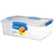 Sistema Fresh Container Rectangular 7L Blue