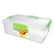 Sistema Fresh Container Rectangular 7L Green