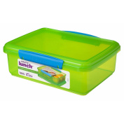 Sistema Lunch Container rectangular 2L Assorted