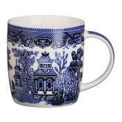 Churchill Blue Willow Dream Shape Mug 340ml