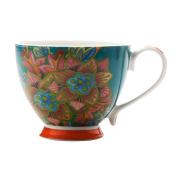 Maxwell & Williams Hanoi Mug Flower Lily Blue 400ML