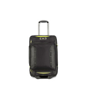 High Sierra Wheeled Upright Duffle Black & Zest 54cm