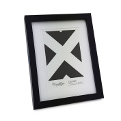 Brooklyn Danby Double Matted Photo Frame Black 10cm x 15cm