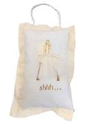 Sherri's Designs Handpainted Baby Bassinet Keepsake Pillow
