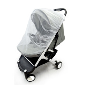 Radley Baby Mosquito Net   for Strollers,Carriers,Car Seats & Cradles   Fits Most PacknPlays,Cribs,Bassinets & Playpens   110cm x 120cm   Made of White   Portable & Durable  Baby Insect Netting