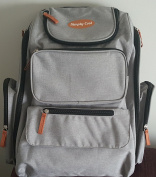Multi-function Nappy Bag Backpack with Baby Stroller Straps, Changing Pad, . and Durable