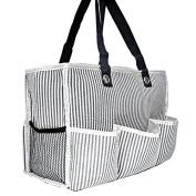 SEERSUCKER nappy BAG (BLACK)