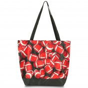 Zodaca Large All Purpose Travel Tote Bag, Football