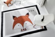 LAGHCAT Children Rug thickening Carpet Pad with Animal Soft Christmas Mat for Baby Creeping,Fox