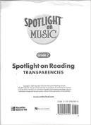 Spotlight on Music, Grade 2, Spotlight on Reading Music Transparencies