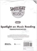 Spotlight on Music, Grade 5, Spotlight on Reading Music Transparencies