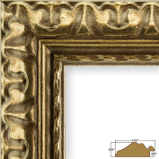 Craig Frames 21247906 30cm by 30cm Picture Frame, Ornate Finish, 5.2cm Wide, Bronze and Gold