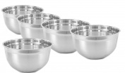 King International Stainless Steel German Bowls , Set Of 5 Pieces , 26 cm