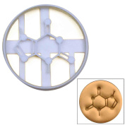 Theobromine Molecule cookie cutter, 1 pc, Ideal gift for chocolate lovers, science students, and cafe owners