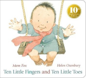 Ten Little Fingers and Ten Little Toes [Board book]