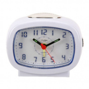 Widdop Led/snooze Beep Alarm Clock White 9765w