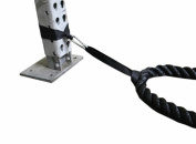 Battle Rope Anchor Kit With Bonus Battle Rope Workout Guide- FitWorx By FirstChoice