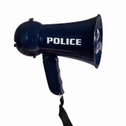 Pretend Play Kids Police Megaphone with Siren Sound