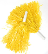 12 SVT Deluxe Cheerleading Pom-Poms - 6 Pairs Ideal for Team Spirit, Corporate Events, and Tailgating