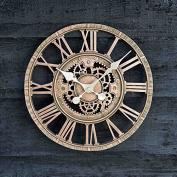 Outside in Design Newby Mechanical Clock, Bronze