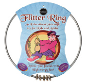 Flitter Ring Juggling Toy | Kinetic Chatter Ring Gyro Sensory Toy | Fun, Scientific Spinning Action for Play and Magic Tricks | Kids and Adults