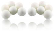 144 Beer Pong Balls Ping Pong Balls Washable Plastic White