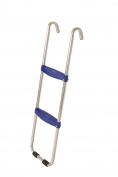 """Get Out! Trampoline Ladder, 43"""" Inches, Accommodates More Sizes of Trampolines – 2 Flat Step Ladder for Kids"""