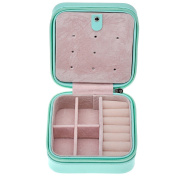 JOVIVI Korean Style Portable Travel Jewellery Box Case Organiser Earring/Ring/Necklace etc Cosmetic Storage Container
