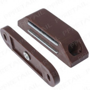 Large 60mm Magnetic Catch - Heavy Duty - Brown Cabinet/cupboa