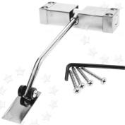 Adjustable Automatic Steel Spring Door Closer 97 X 30 X 20mm For 20-40kg Doors