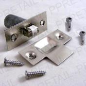 Silver Door Roller Catch Holder Cupboard Chrome Nickel