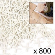 800 X Cross Tile Spacers 3mm Tiling/groutin
