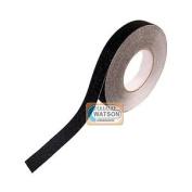 Black Anti Slip Tape High Grip Adhesive - 25mm X 1m