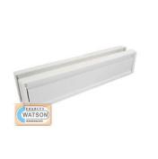 30cm White/cream Anti-vandal Upvc Door Letter Plate Letter Box