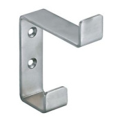 Satin Stainless Steel Hat & Coat Hook