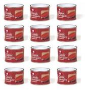 12 X Tins Of Classic Mahogany Varnish, 180ml,home Diy Wood Protector