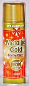 Gold Metallic Spray Paint 250ml Decorative Interior & Exterior Paint