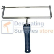 30cm Double Arm Steel Bar Roller Frame With Plastic Handle