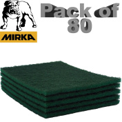 Mirlon Scotch Brite Abrasive Finishing Pads Green/red/grey Cleaning/scour